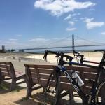 国道二号線をサイクリング 武庫川 ~ 明石(大蔵海岸)